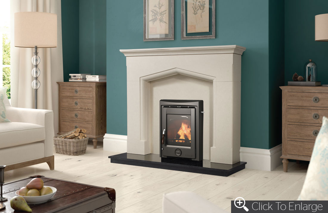 Apollo 5kw – insert | henley stoves|wood burning stoves.