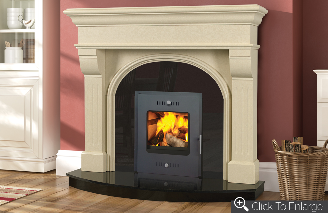 Carrig Fire Front Door | Henley Stoves|Wood Burning Stoves