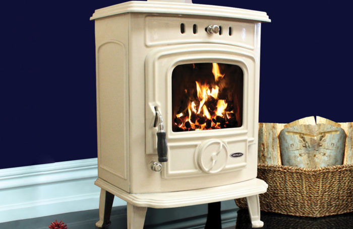 Aran 6kW Room Heater Enamel Cream