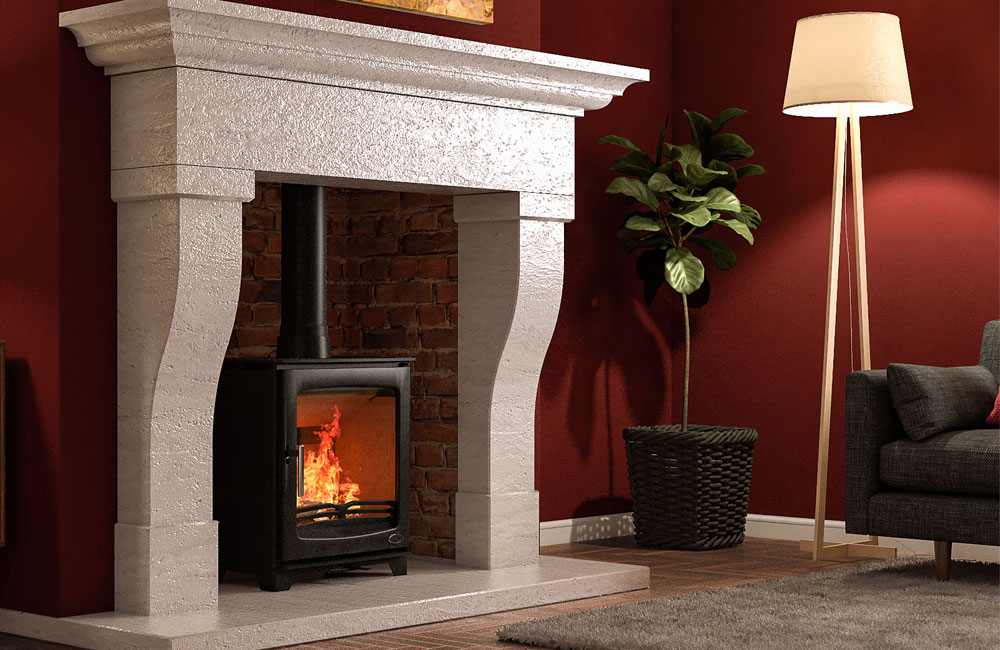 Hazelwood 5kW Stove Matt Black