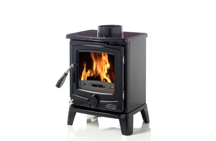 Cambridge 5kW Enamel Black