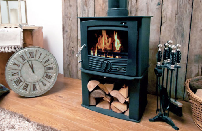 Druid 8kW Stove with Logstore