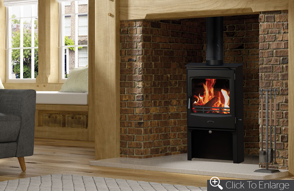 Lincoln 5kW Stove with Logstore