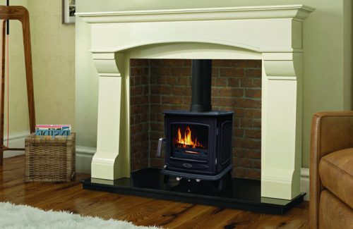 ascot, 7kW, stove, external air, multi-fuel