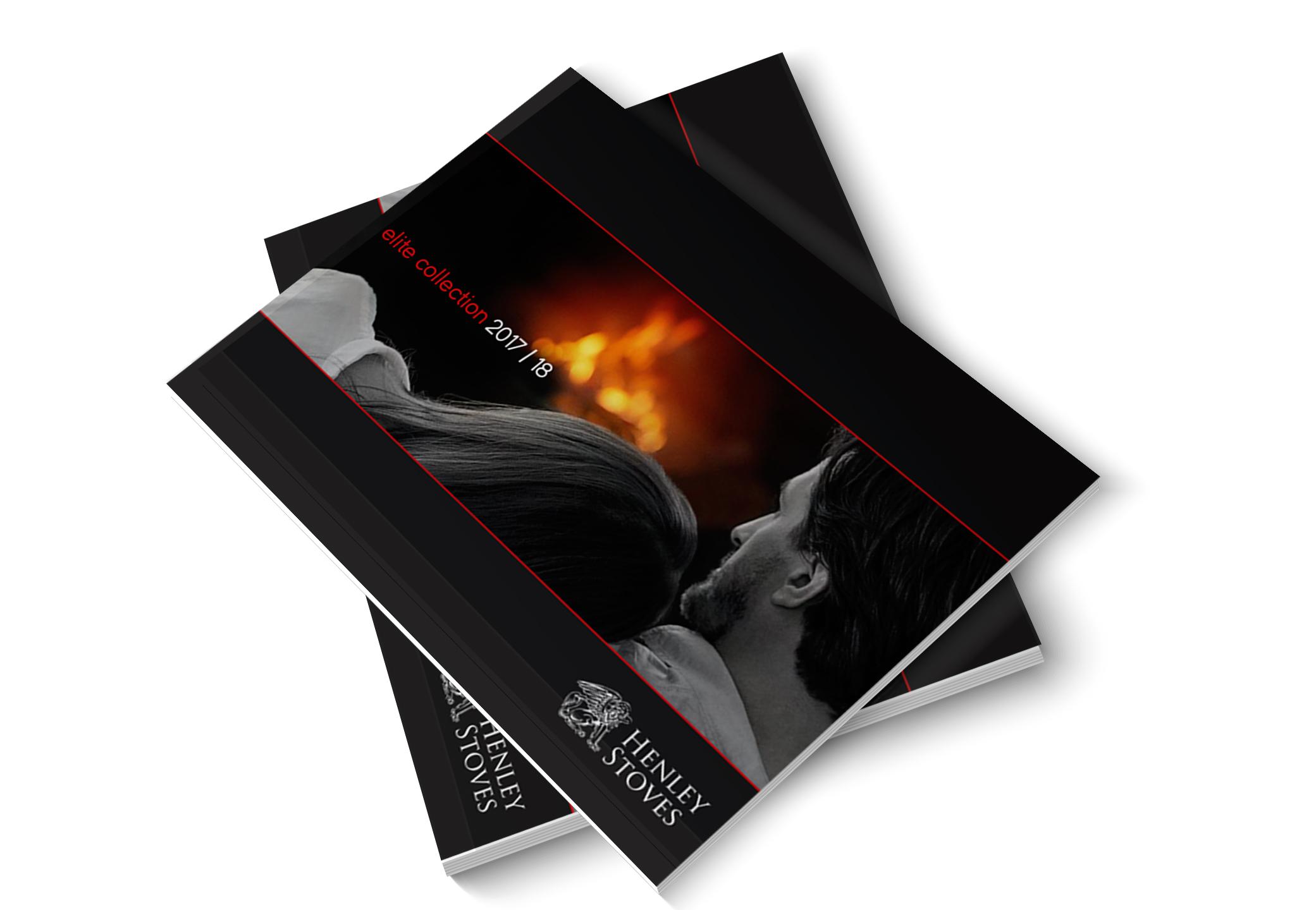 elite brochure mockup