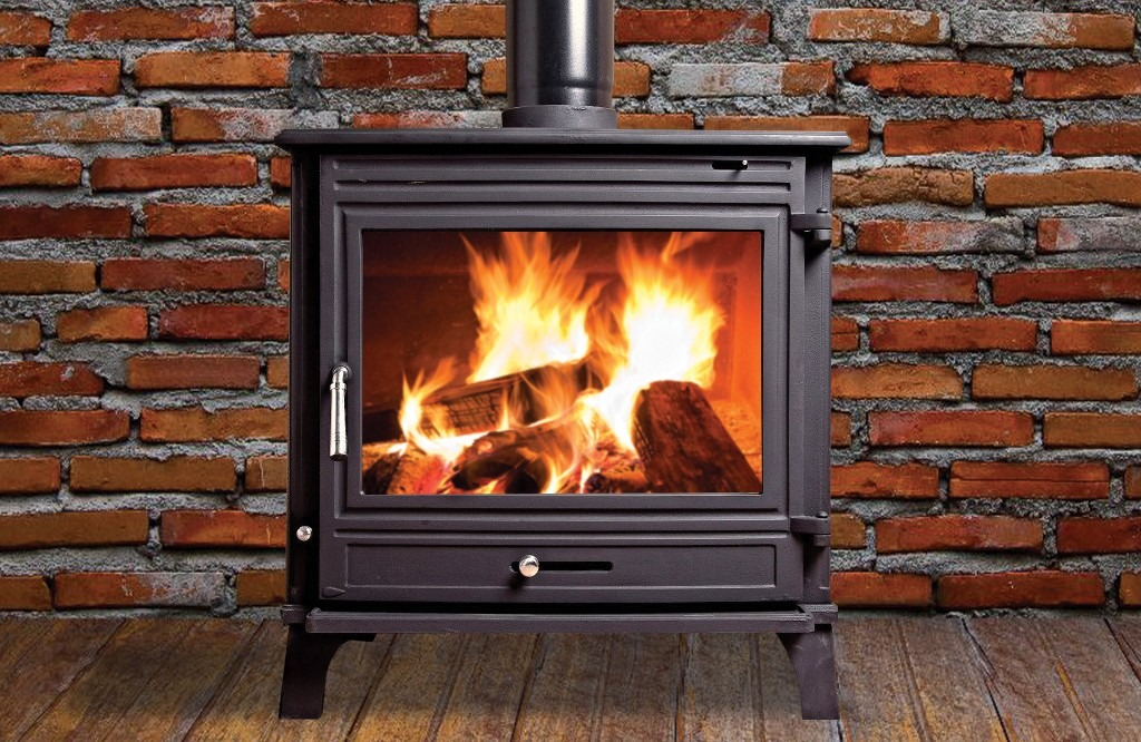 Titan 10kW Room Heater by Henley Stoves