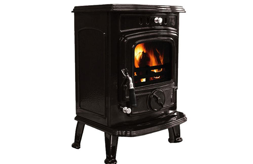 Aran 6kW Room Heater Enamel Black