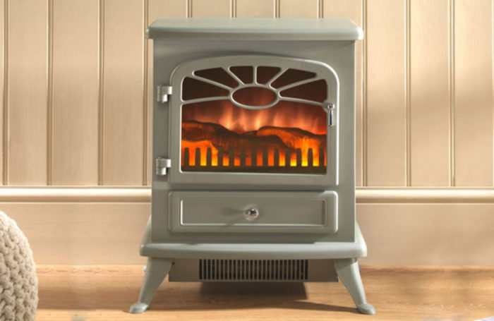 ES2000 Electric Stove Grey